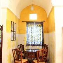 Surya Mahal - Dining area, Neemrana Fort Palace