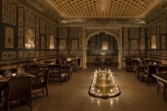 Mohan Mahal inspired by Sheesh Mahal- JW Marriott Resort & Spa, Jaipur