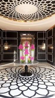 Beautiful courtyards at JW Marriott Resort & Spa