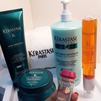 Mend it with Kerastase at Page 3 Salon